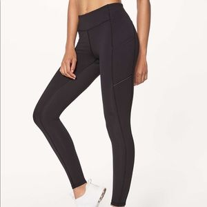 Lululemon Speed Up Tight Black Luxtreme 28""